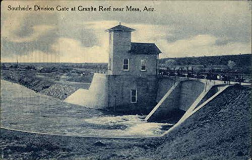 Southside Division Gate at Granite Reef Mesa, Arizona Original Vintage - Southside Stores
