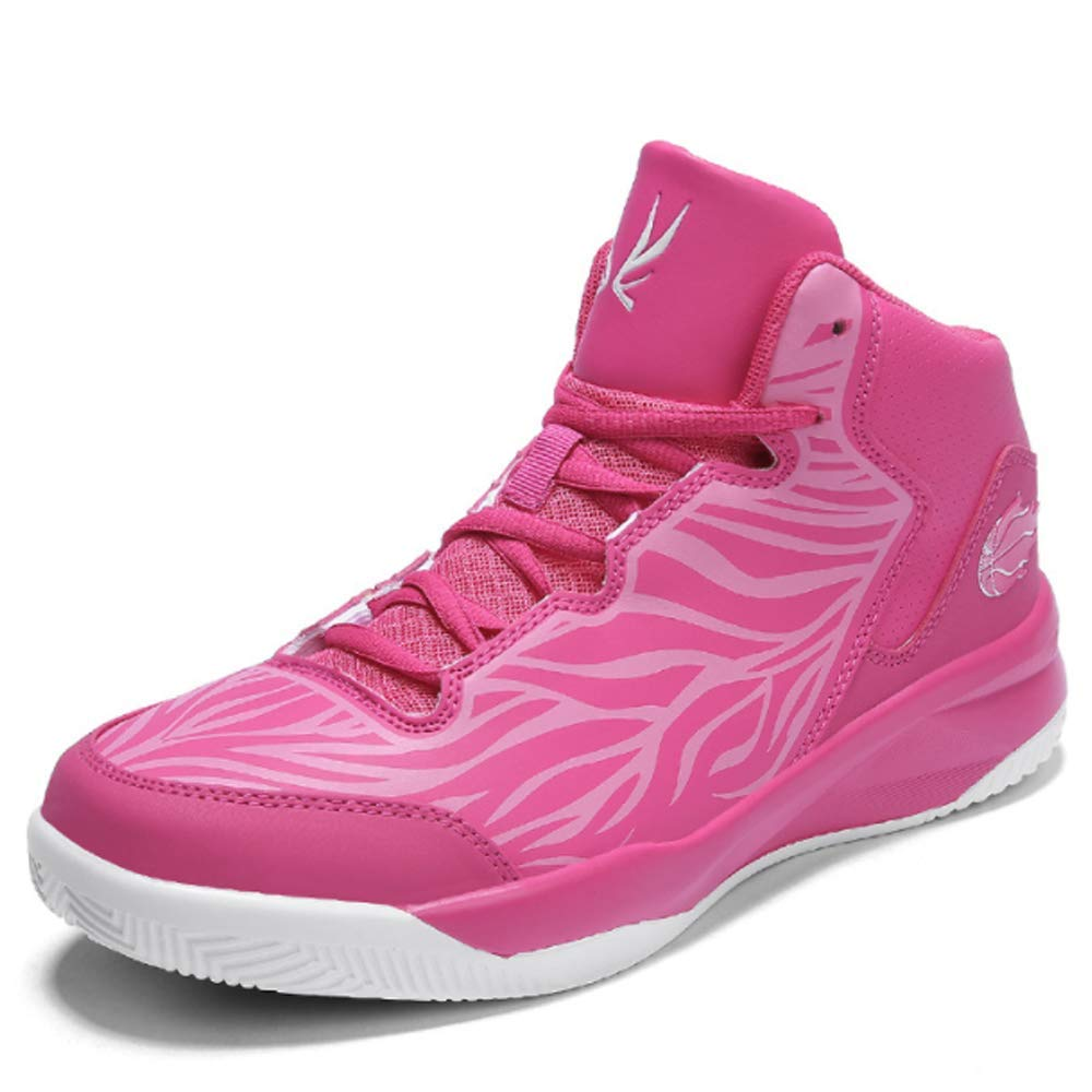 Pink EU39=US6.5 Men KEREE Women's Men's Cool Athletic Running Fashion Sneaker and Basketball shoes
