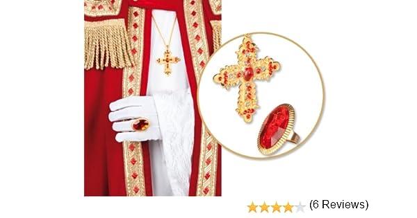 Accesorios de vestuario anillo de cadena de disfraces para ...