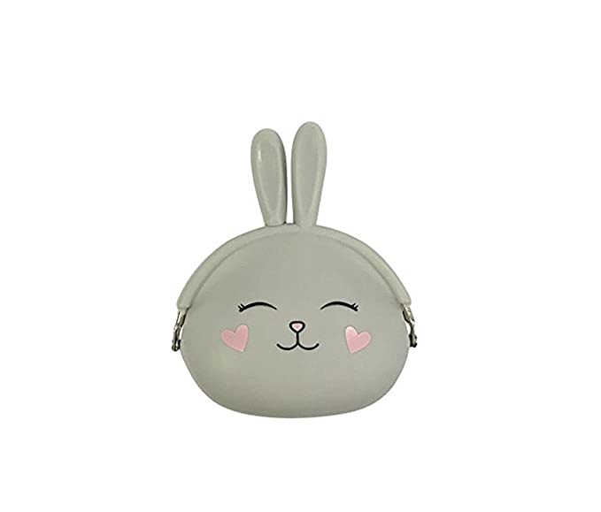 9df87864c052f Image Unavailable. Image not available for. Color: SOCOSY Cute Cartoon  Bunny Rabbit Silicone Coin Purse Jelly Coin Purse Waterproof Mini Wallet ...