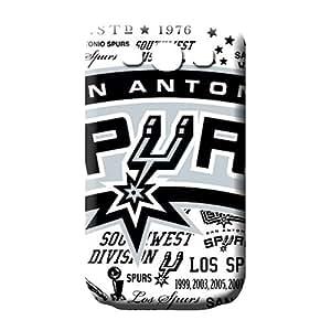 samsung galaxy s3 mobile phone carrying cases Bumper case High Grade Cases san antonio spurs nba basketball