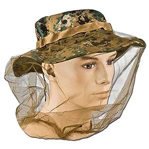 Sombrero antimosquitos Red