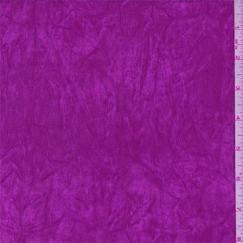 Fuchsia Stretch Slinky, Fabric by The Yard ()