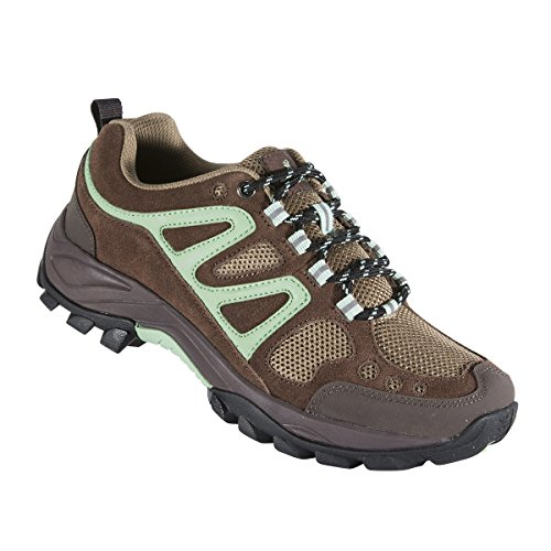 Browning Women's Delano Trail Shoes, Potting Soil/Ming, S...