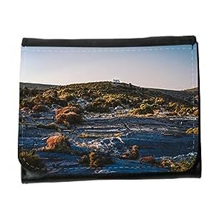 le portefeuille de grands luxe femmes avec beaucoup de compartiments // M00240175 Paisaje de la colina dunas Nature House // Small Size Wallet