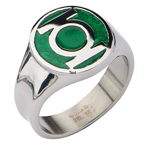 Animewild DC Comics The Green Lantern Logo Ring (9) ()
