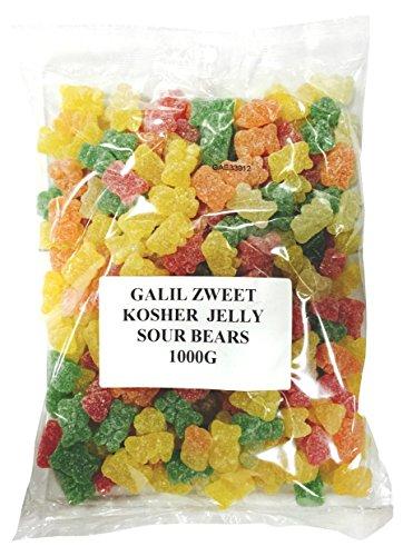 Zweet Sour Bears Bulk Gummy Candy, 35.3 Ounce (Pack of 12)