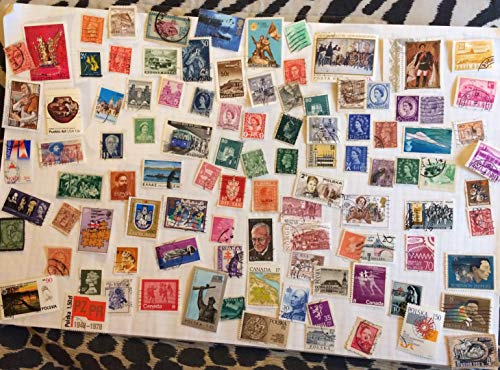 Lot of 100 Mint Never Hinged MNH Collectible Worldwide Stamps