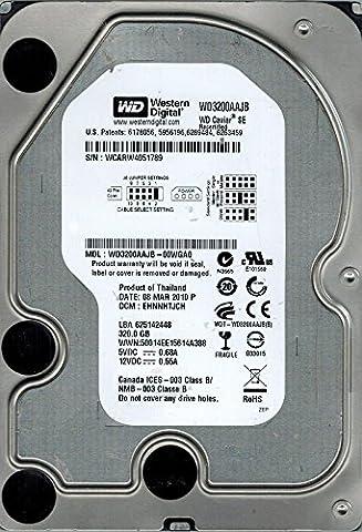 Western Digital WD3200AAJB-00WGA0 320GB DCM: EHNNHTJCH (Western Digital Wd3200aajb)