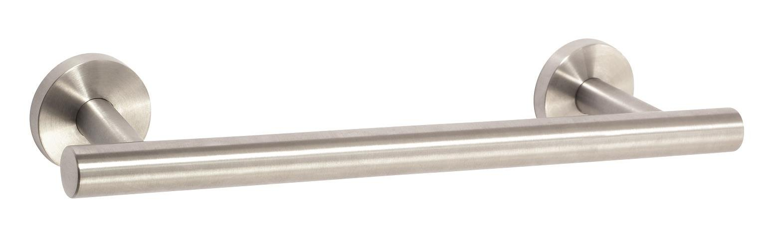 Amerock BH26546-SS Arrondi Collection 9-Inch Towel Bar, Stainless Steel
