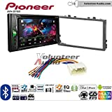 99 honda civic double din kit - Volunteer Audio Pioneer AVH-201EX Double Din Radio Install Kit with CD Player Bluetooth USB/AUX Fits 2006-2011 Honda Civic