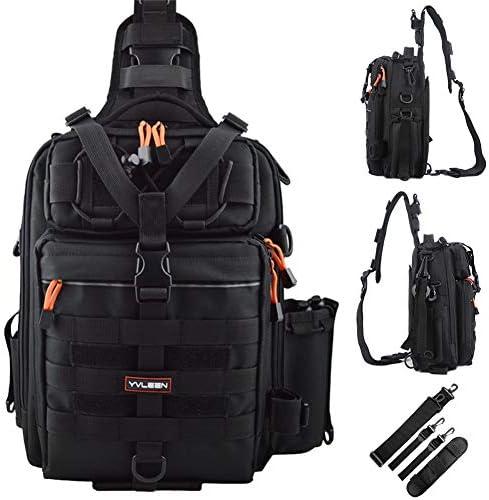 Large Fishing Backpack Tackle /&Rod Storage Shoulder Bag Outdoor Camping Boxes US