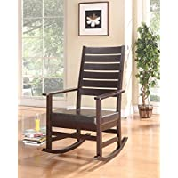 ACME Furniture 59213 Kloris Rocking Chair, Cappuccino PU