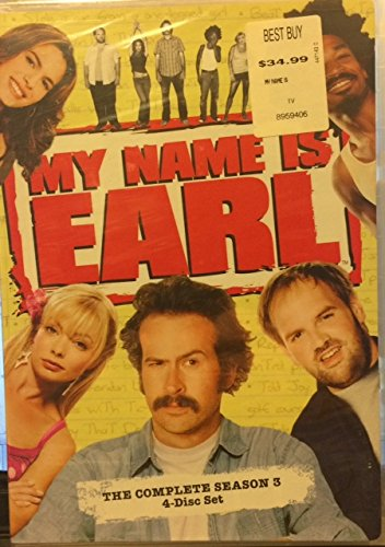 DVD : My Name Is Earl: Season 3 [Widescreen] [4 Discs] (, Dolby, AC-3, Widescreen, 4 Disc)