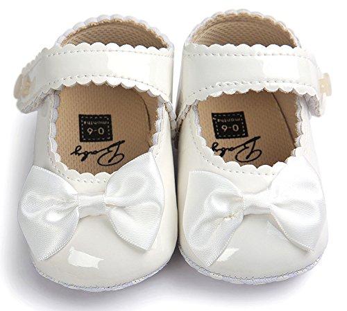 rutsch Mädchen Blue sneakers Aus Anti Baby Leder Schuhe Weiche Sohle Beugen Weiß Krippe Vessel Neugeborenes wrxwPYC
