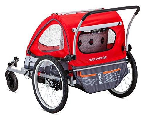 amazon com pacific cycle schwinn trailblazer double bicycle rh amazon com schwinn bike trailer stroller folding instructions Schwinn Scout Bicycle Trailer Parts