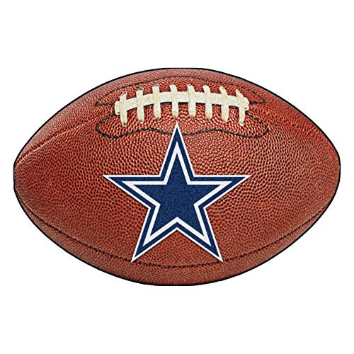 - FANMATS NFL Dallas Cowboys Nylon Face Football Rug