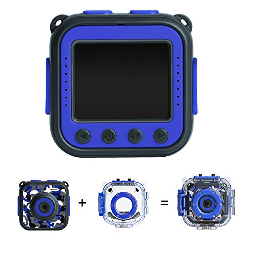 Waterproof kids camera