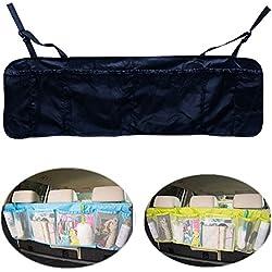 Multifunction Back Seat Folding Car Storage Travel Interior Bag Hanger Collapse Seat