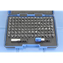 TEMO 100 pc Impact Ready Security Bits Screwdriver Set Kit with two quick chucks 15C5