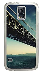 Samsung Galaxy S5 Cases & Covers - Beautiful Bridge PC Custom Soft Case Cover Protector for Samsung Galaxy S5 - Transparent