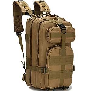 Wynex - Mochila táctica militar de asalto militar para acampada al aire libre, senderismo, trekking, 30 L