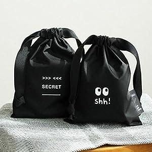 Storage Bags, Cheap Storage Bags, Arrival 1pcs Travel Sanitary Napkin Storage Bag Organizer Portable Cute Black Nylon Cosmetic Makeup Bag Pouch Case -