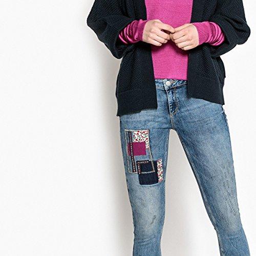 La A Jeans Patte Con Redoute Collections Stone Blu Donna Strappo rAwrxpq