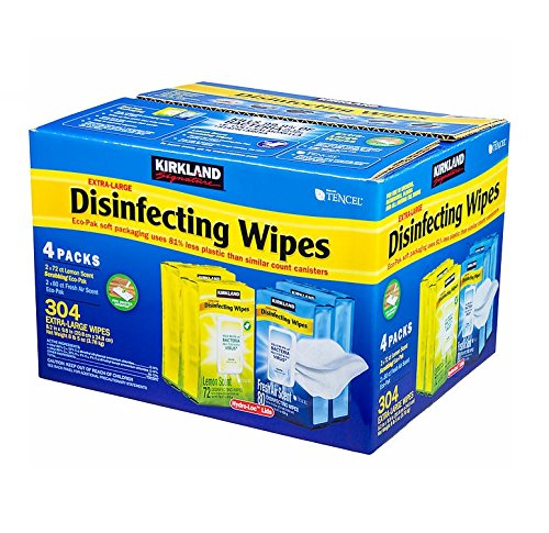Kirkland Signature Extra Large Disinfecting Wipes 304 Count