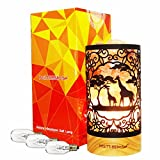 Kimisky Himalayan Salt Lamp New Designs Giraffe Family Salt Lamp Night Light, UL-Certified New Dimmer Switch, 15W, Himalayan Himalayan Pink Salt Rock Lamps, 3 Bulbs SP-147 (Giraffe)