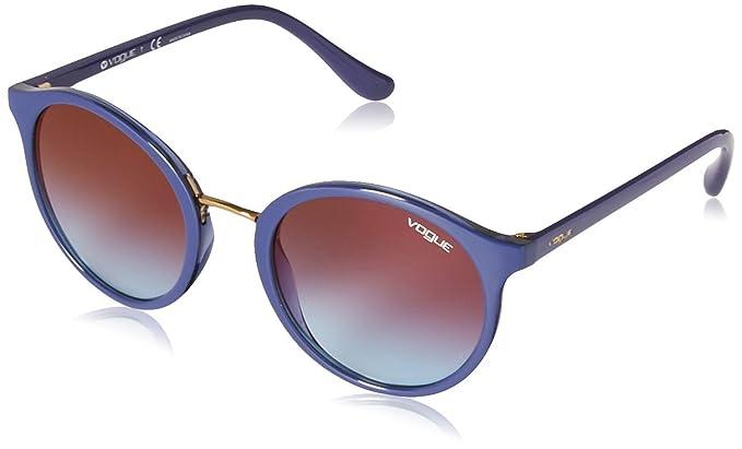 Vogue Eyewear 0VO5166S 2619H7 51 Gafas de Sol, Azul (Top ...