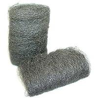 Bulk Hardware BH04382 Gesorteerde staalwol (1 elk 20 g middel/fijn/ruw), wit
