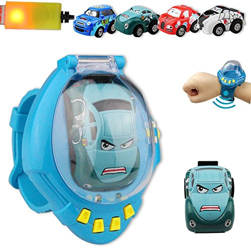 Toy RC Vehicle Mini Remote Control Car, Gravity-Sensor Watch
