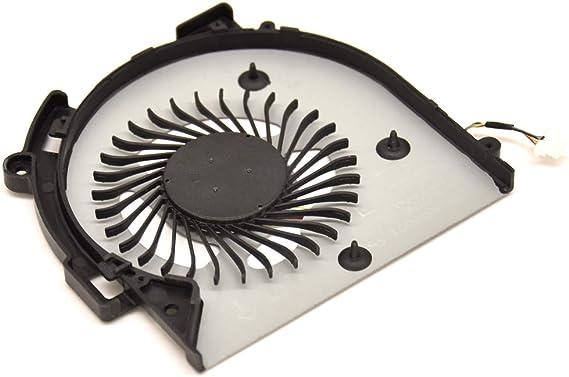 BAY Direct Repuesto de Ventilador de refrigeraci/ón para CPU 4 Pines para HP M6-AR M6-AR004DX M6-AQ003dx M6-AQ005dx M6-AQ004DX M6-AQ103DX M6-AQ105DX N/úmero de Pieza Compatible: 856277-001