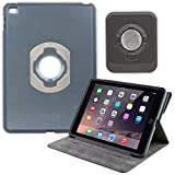 OtterBox Agility Portfolio Bundle with Wall Mount for Apple iPad Air 2 Black Leather (78-50458)