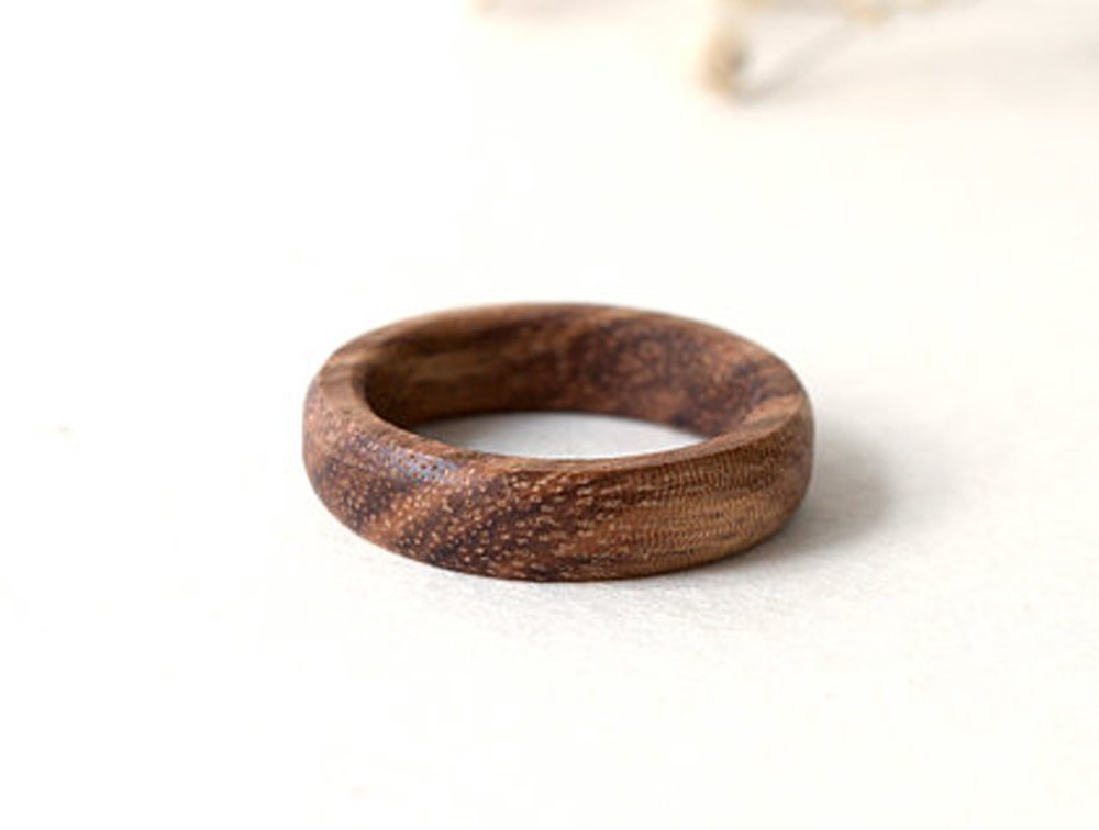 Zebra Wood Ring, Wood Band, Men Ring, Women Wedding Band, Wood Ring, Custom Ring, Wedding Men Ring, Wood Wedding Jewelry, Wood Jewelry, Zebrano Wood Ring, Personalized Ring
