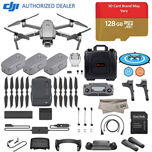 2018 DJI Mavic 2 Pro Drone Quadcopter, Fly More Combo Kit, Hasselblad Camera HDR Video, with 3 Batteries, 128GB Micro SD, Landing Gear & Pad, Prop Holder, Stick Protector, Extra Hard Carrying Case Review