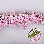 Li-Hua-Cat-Simulation-Cherry-Blossom-Garland-Artifical-Plants-Hanging-Vine-Silk-Garland-Wedding-Party-Decor-1-piece-Pink