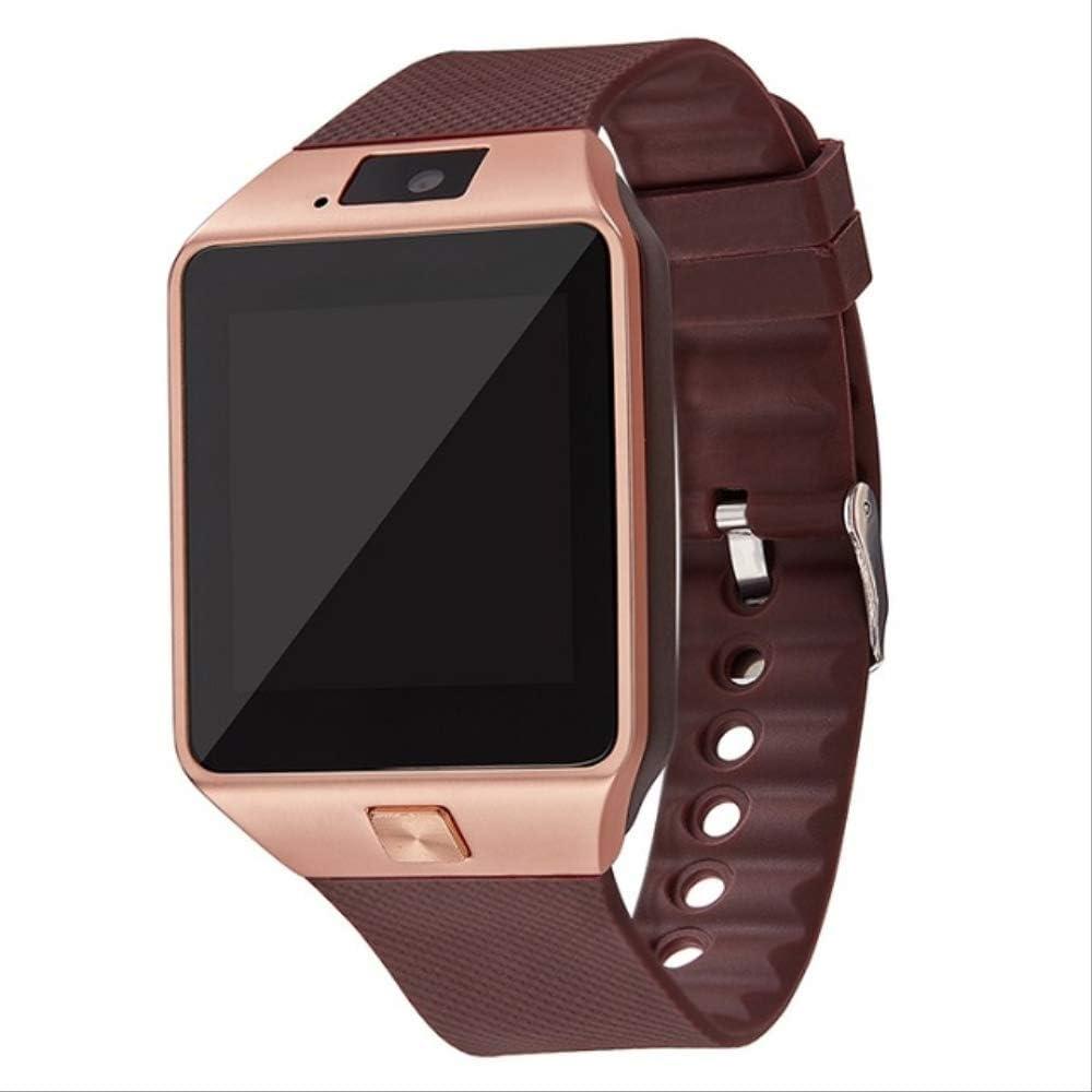Reloj Inteligente con Bluetooth y Correa para la muñeca, 2 g, Tarjeta SIM TF para iPhone, Android, Smartphone, Smartphone, Passometer y Monitor de sueño.: Amazon.es: Electrónica