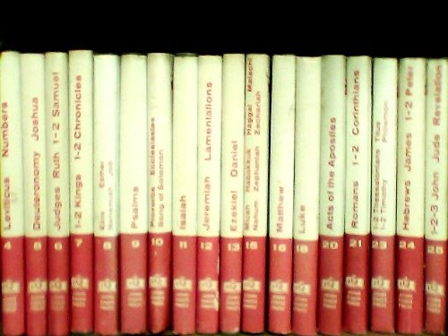 18 Volumes Lay Mans Bible Commentary