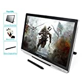 Huion GT-220 V2 Silver Graphics Tablets with Display 21.5 Inch Interactive Drawing Monitor Display IPS Panel HD Resolution