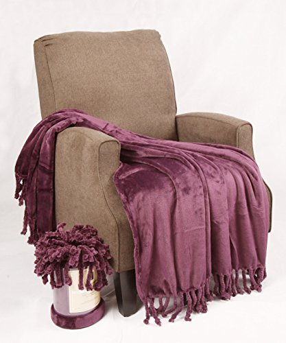 BOON Rope Braided Bed Couch Throw Blankets, 50