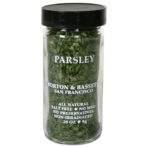 Morton & Basset Spices, Parsley, 0.28 Ounce (Pack of 3) by Morton & Bassett (Image #1)