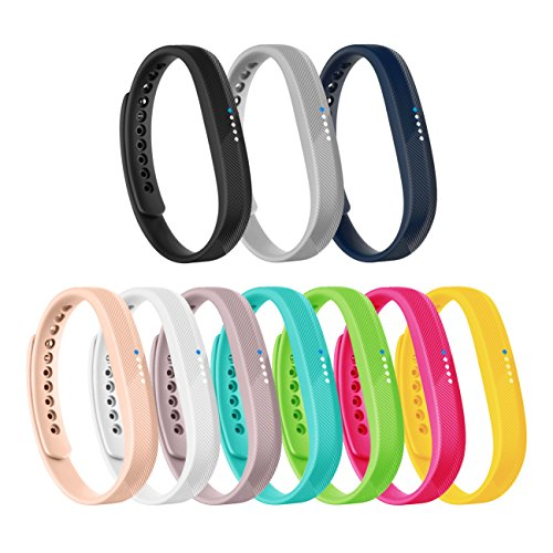 Vancle Fitbit Flex 2 Bands, Adjustable Comfortable Replacement Sports Accessories Wristbands for Fit bit Flex 2
