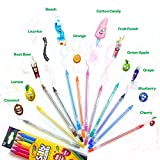 Crayola Silly Scents Twistables Colored Pencils, 12 Count, Ages 3 & Up