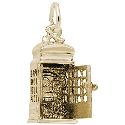 10k Yellow Gold Phone Booth Ch