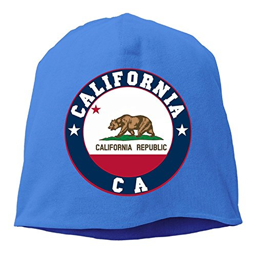 Flag of California Republic State CA Slouch & Comfort Daily Beanie - Beanie Ca