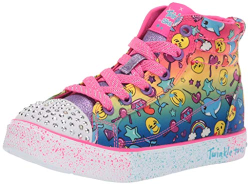 Skechers Kids Girls' Twinkle Breeze 2.0-Sparkles Sneaker Multi 12 Medium US Little - Twinkle Toes