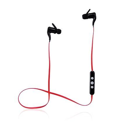 Auricular Bluetooth, Inalámbrico Bluetooth auriculares banda para el cuello, sumergible V4,1 auriculares