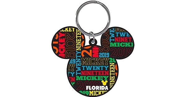 Amazon.com: Disney 2019 - Llavero de cabeza de Mickey Mouse ...